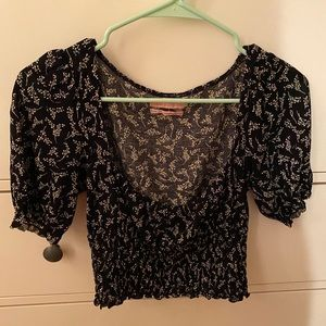 Urban Outfitters Black top/Altrd State yellow top